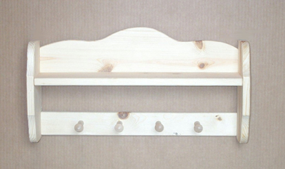 Four Peg Shelf