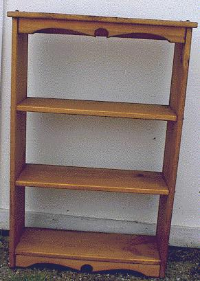 Country Upright Bookshelf