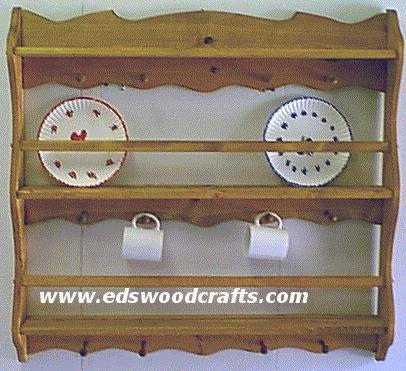 Plate Display Shelf