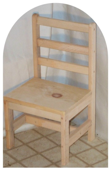 Child's ChairLadder Back
