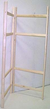 60'' Maple Quilt Ladder