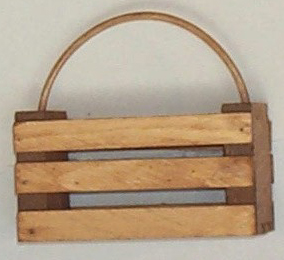 6'' Basket With Reed